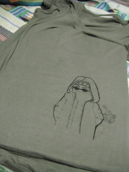 Shino shirt outline