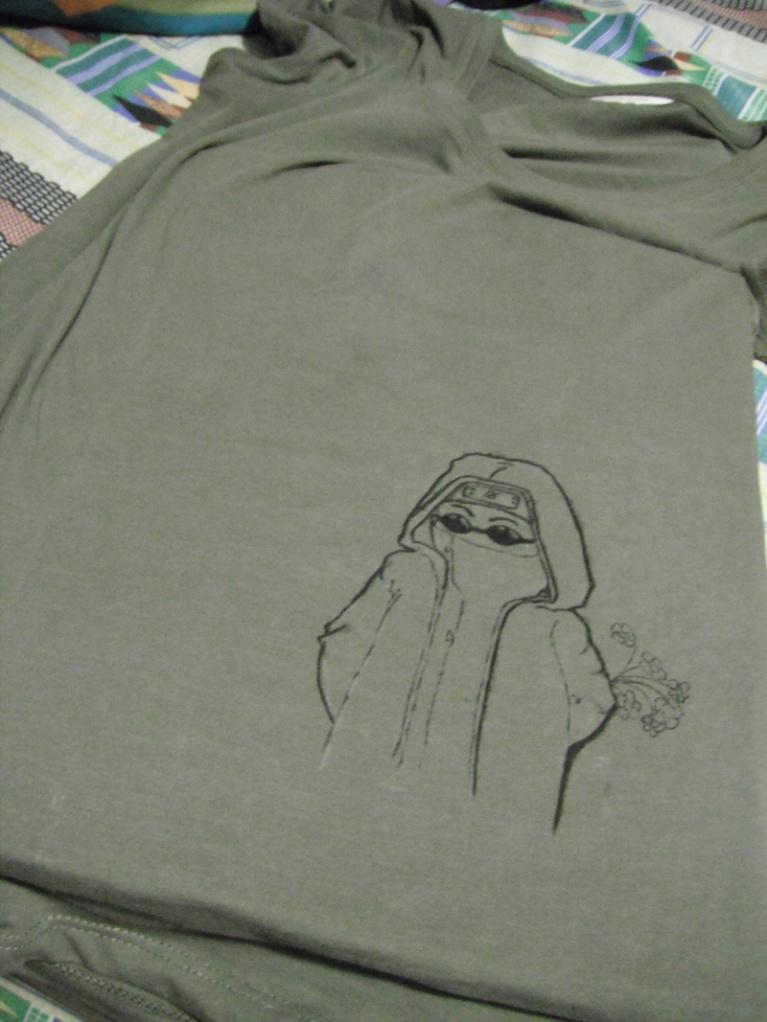 Shino shirt outline
